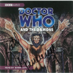 And the Daemons (COVER ONLY) signed by Katy Manning 1331